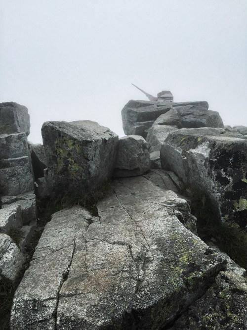 Gipfel des Rysy, Hohe Tatra Wandern