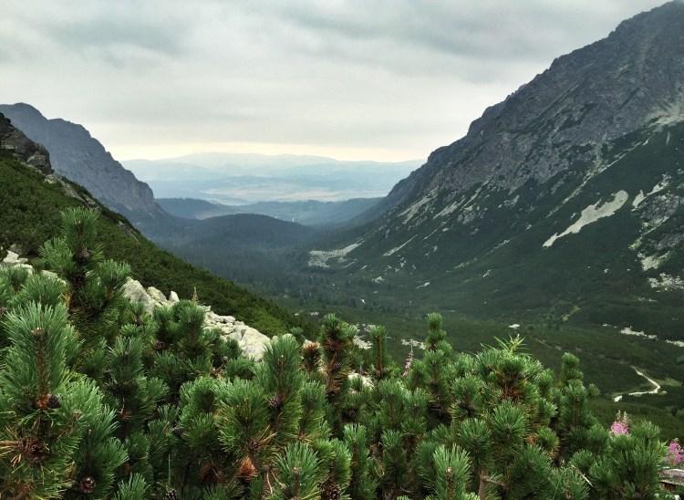 Hohe Tatra Rysy, Slowakei