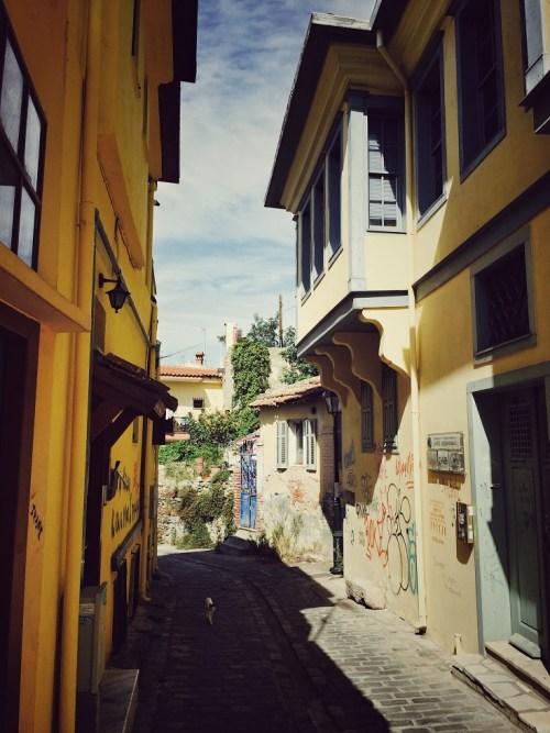 Thessaloniki Ano Poli Altstadt