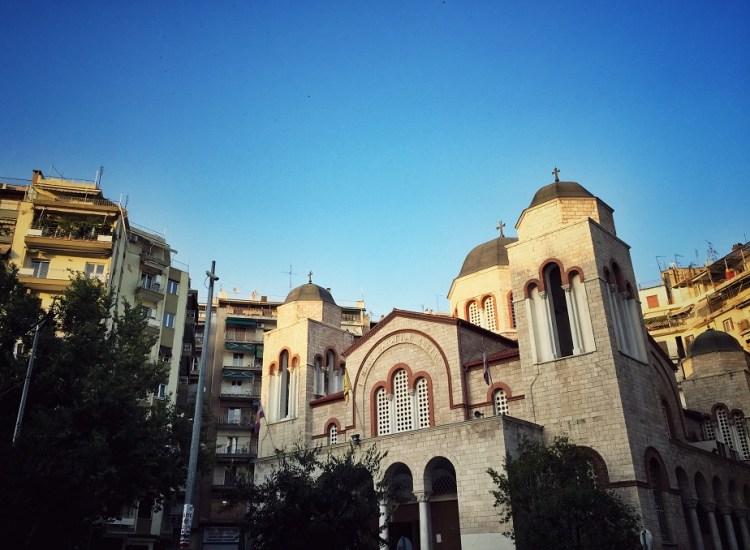 Thessaloniki Kirche Ekklisia Panagia Dexia