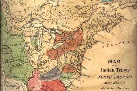 alfa img showing > native american us map 1600