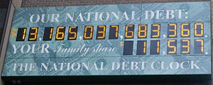 300px National Debt Clock by Matthew Bisanz