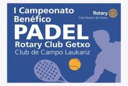 Foto Cartel Padel 2015 RC Getxo