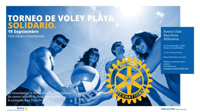 RC Barcelona Millennium_Torneo Solidario Voley Playa