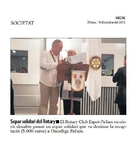 RC Espot-Pallars. Segre 19.10.2015