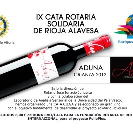 IX Cata Rioja Alavesa ADUNA 2015