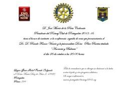 Invitación charla Ricardo Franco & Pilar Puertas