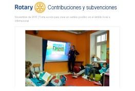 Rotary Contribuciones y Subvenciones 720x550