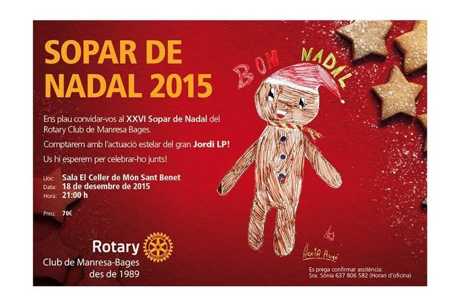 Sopar Nadal 2015 RC Manresa Bages