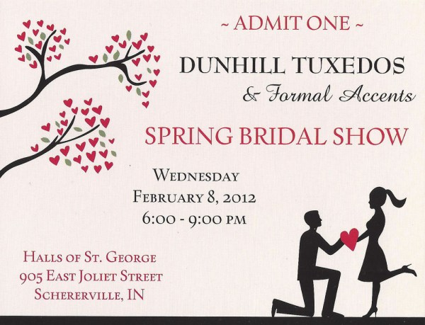 Dunhill Spring Bridal Show 2012