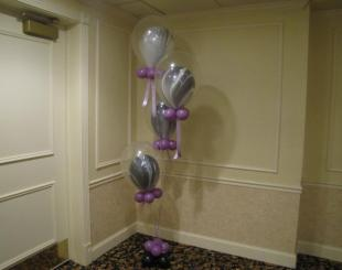 Balloons inside of balloons - It's My Party