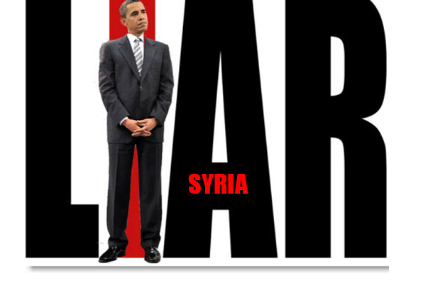 Image result for obama lied about syria