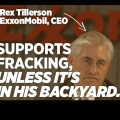 'Are You Fracking Serious?' – Exxon CEO Sues to Keep Fracking Well Away from His $5 Million Home