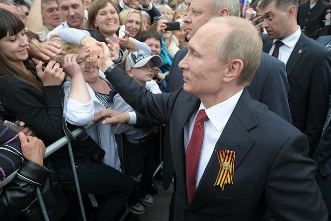 Putin the Peacemaker. (Photo Credit: Russian Presidential Office)