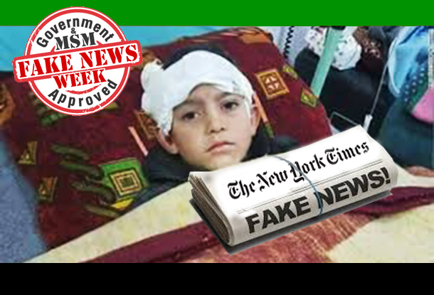 'Legless Abdulbasit' - More Fake News from Syria's 'Moderate Rebel' Media Machine