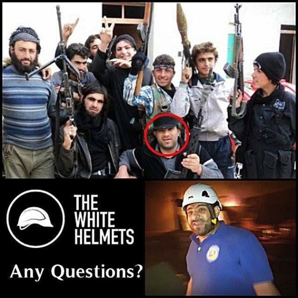 5 White Helmets Terrorists