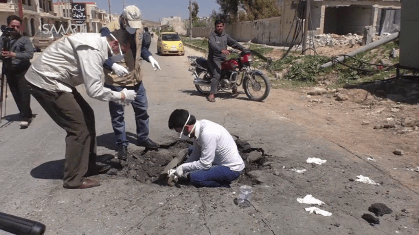 Idlib Chemical Attack story