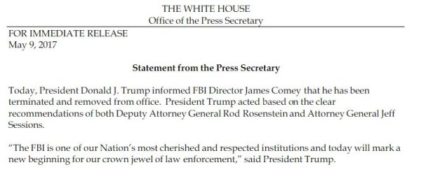 WH-Fires Comey