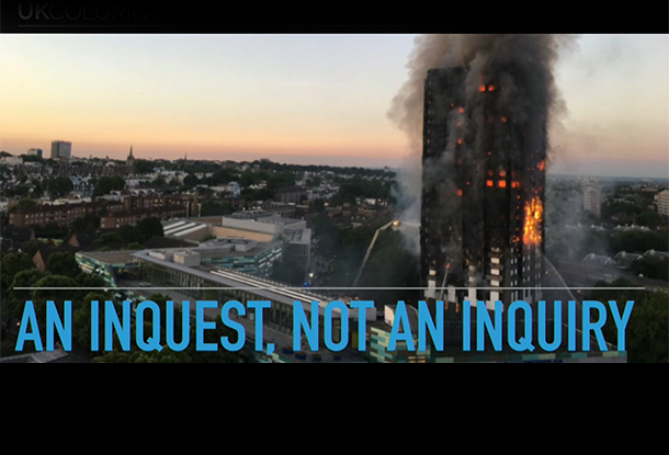 UK COLUMN: Serious Questions About Grenfell Tower...