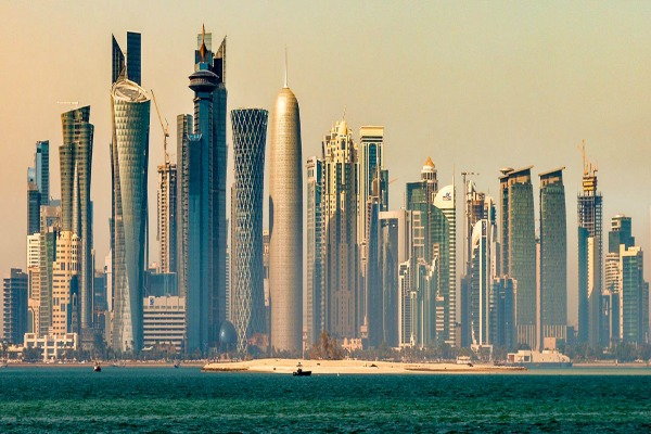 Doha-skyline-in-the-morning