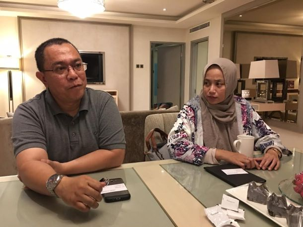 Prof Iman Soleh and Prof Antik Bintari
