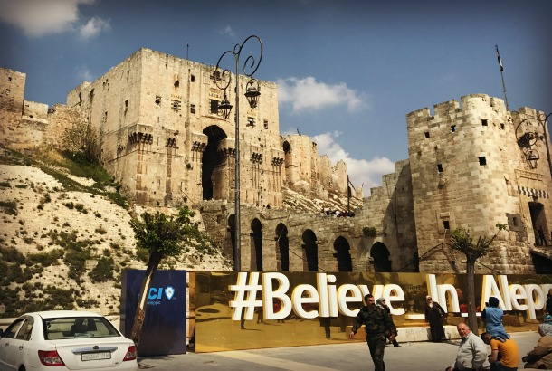 ALEPPO: Rising from the Ruins of NATO and Gulf State Terrorist Occupation #BelieveInAleppo