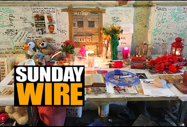 Episode #194 - SUNDAY WIRE: 'After The Fire' with Patrick Henningsen, Mike Robinson and Guests