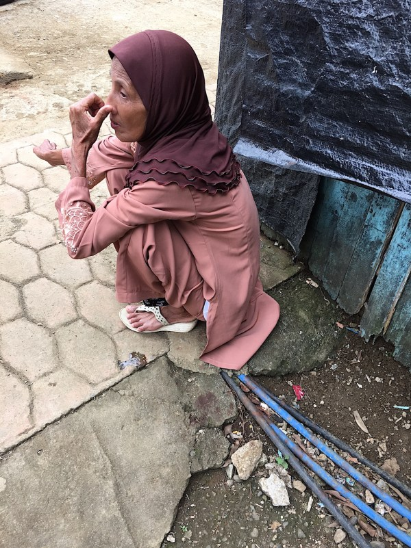 old woman of Marawi City