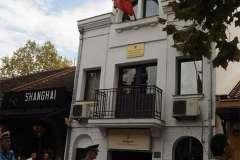 Gjuhet me gurë ambasada e Shqipërisë