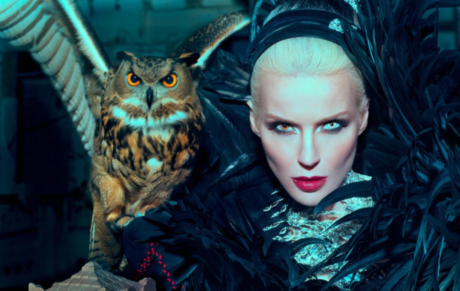 Daphne Guinness by Markus Klinko and Indrani