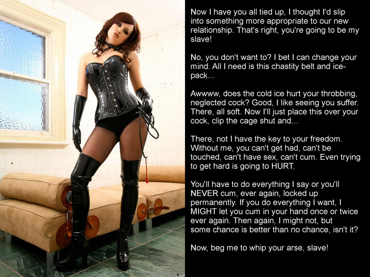 forced into locking bondage corsets caption