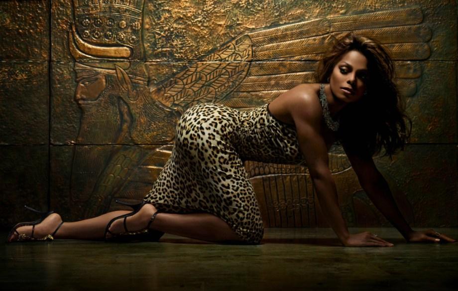 Janet Jackson by Markus Klinko and Indrani
