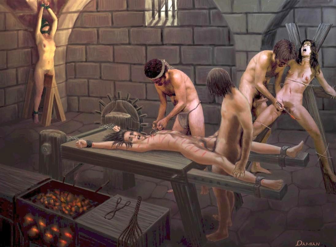 Пытка гениталей порно онлайн