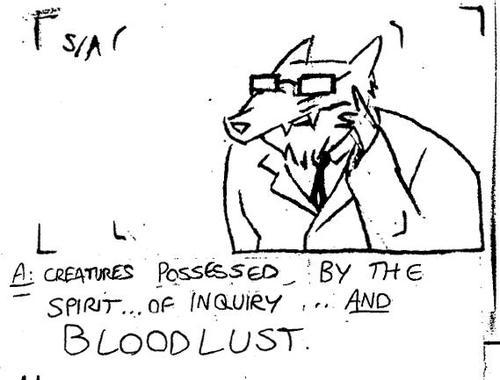 WhyWolves: Creatures possessed by the spirit of inquiry...and bloodlust