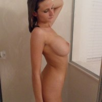 @DaisyZplace washing her lovely boobs. See more of her here.