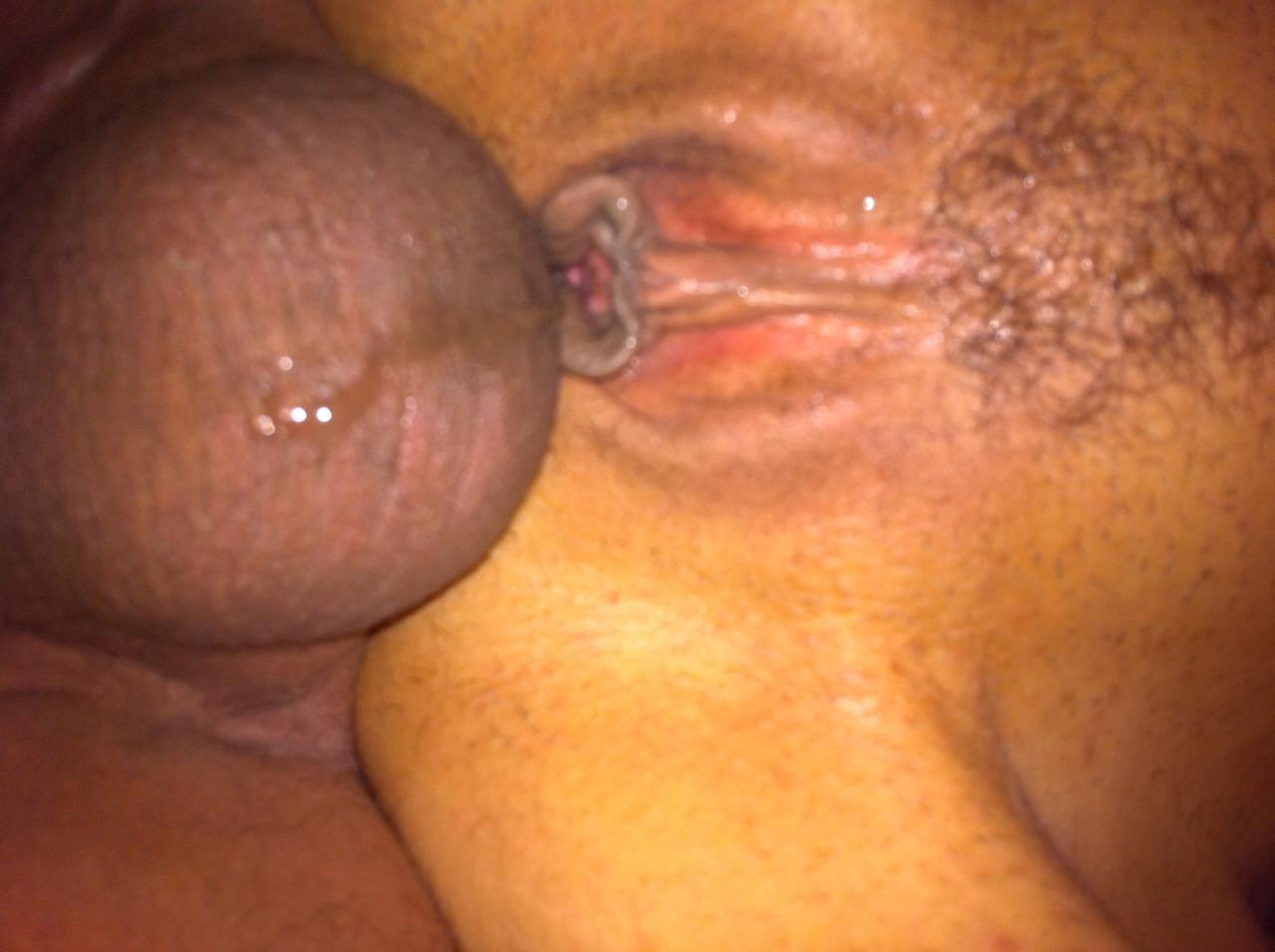 ebony oiled anal sex