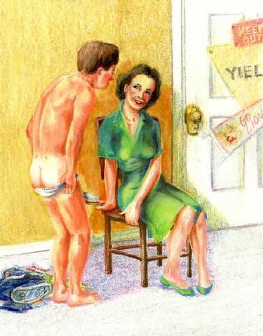 maternal spanking disciplinarians