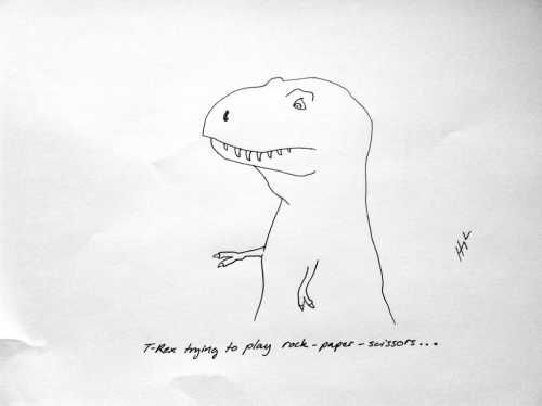 tumblr lykj1rZ41W1ro09hco1 500 t rex tuesday (and a GIVEAWAY).