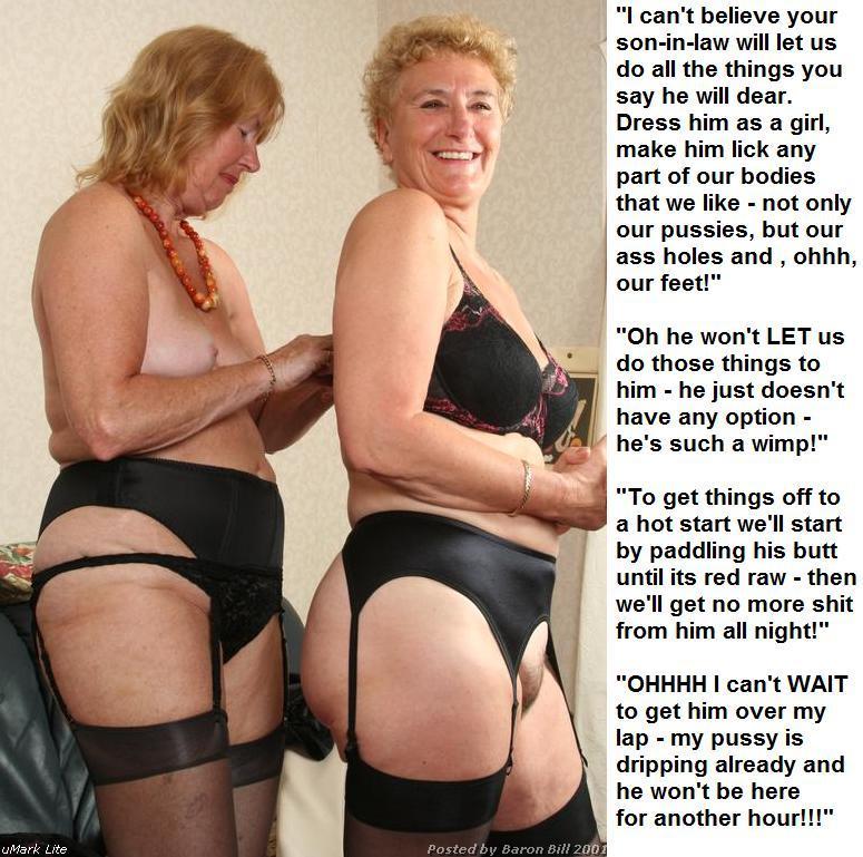 mother in law slut captions