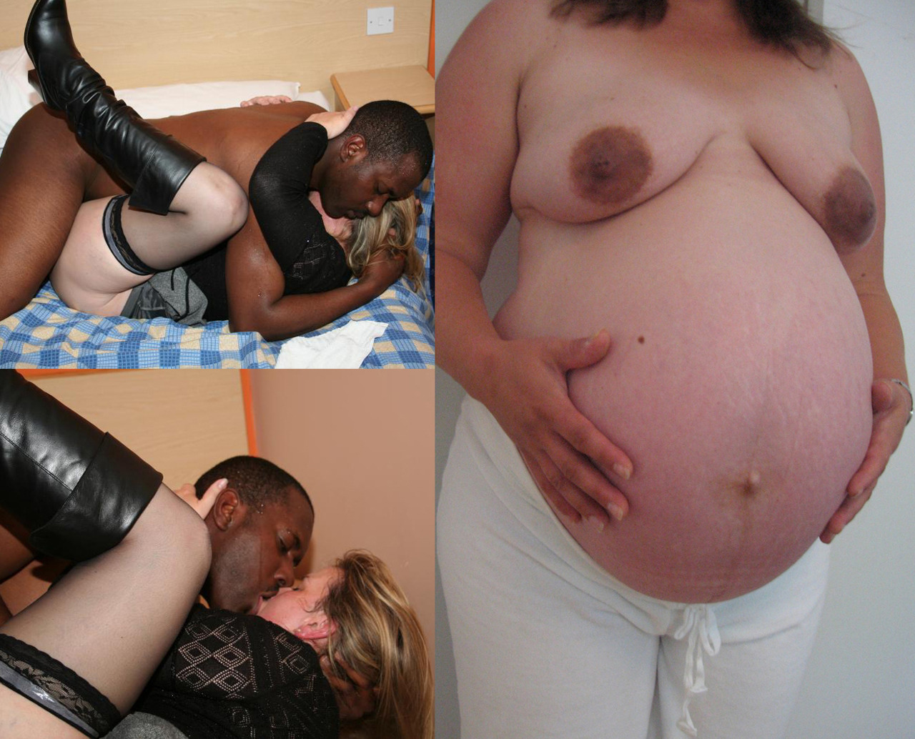 By got husband interracial lover pregnant watch who wife