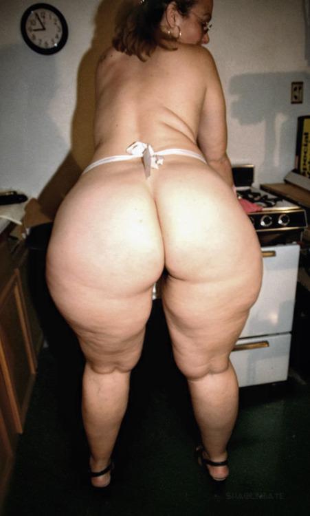 wide hips women butt