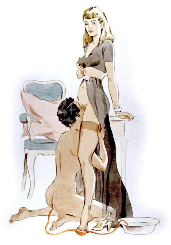 vintage dominatrix cartoons