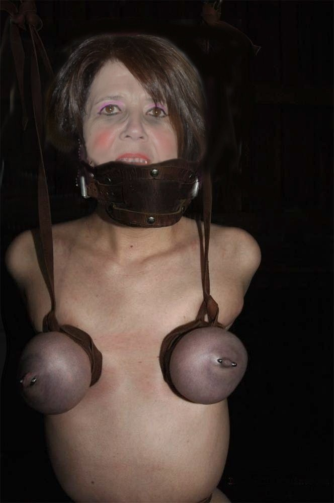 gilf tied tits