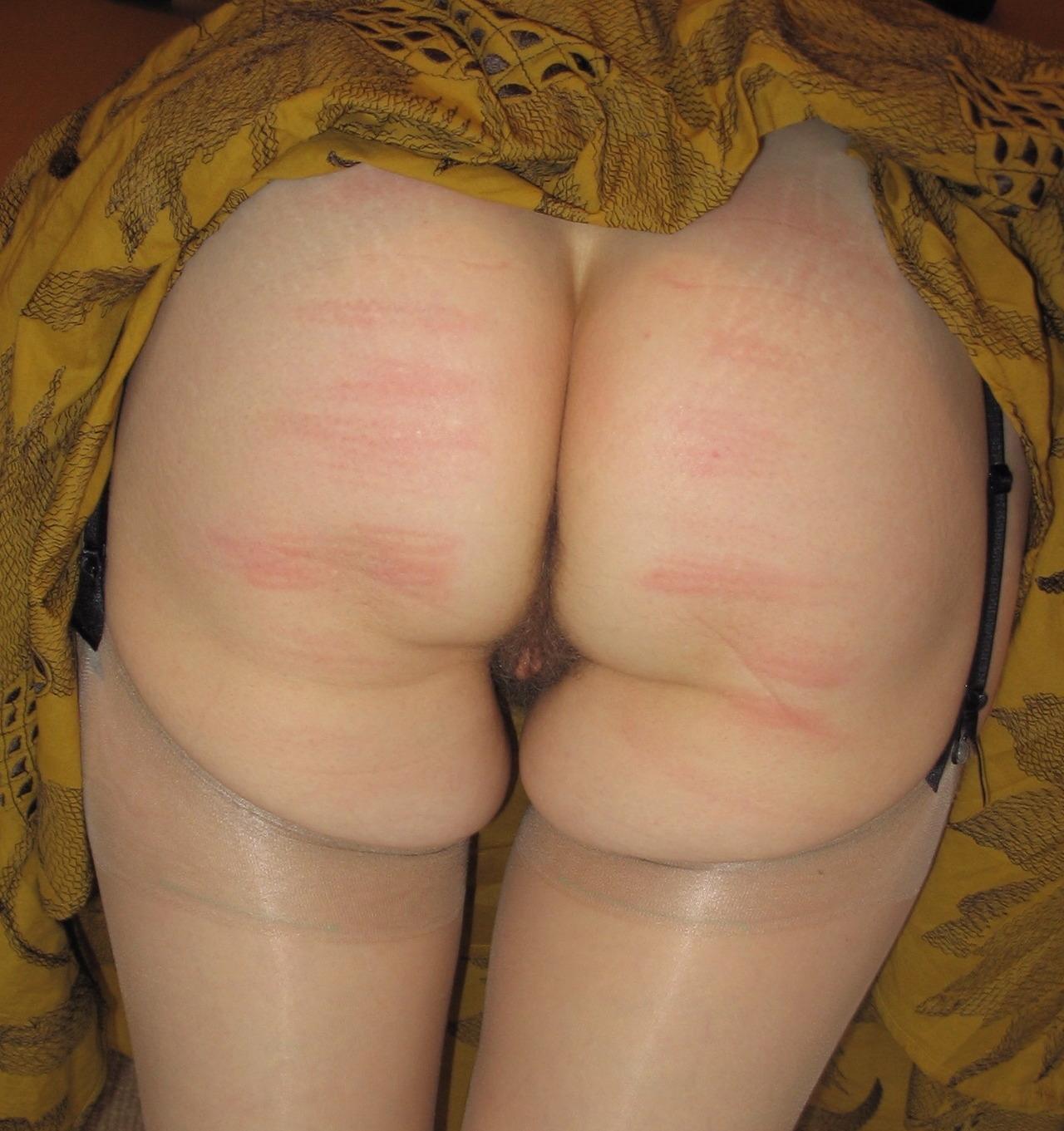 tumblr bare bottom spanking and panty