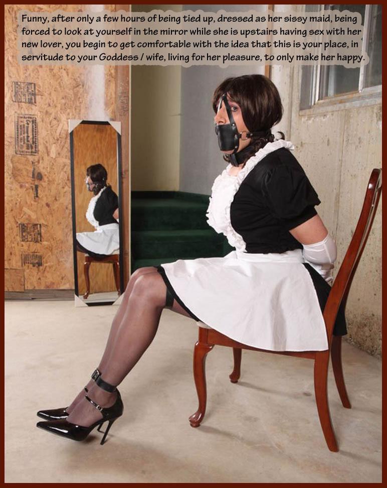 sissy maid bondage tumblr