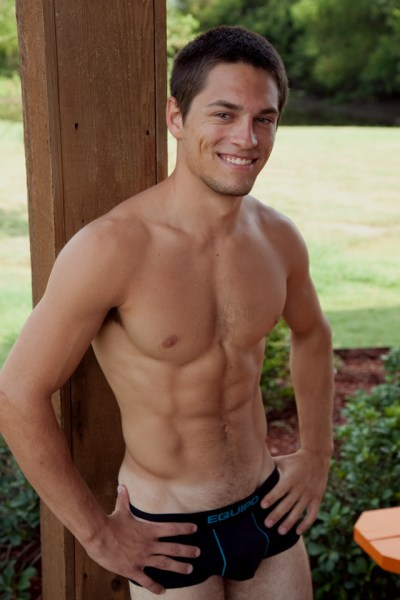 young hung masculine jock.
