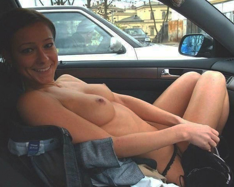 Simply flashing truckers my pussy consider, that