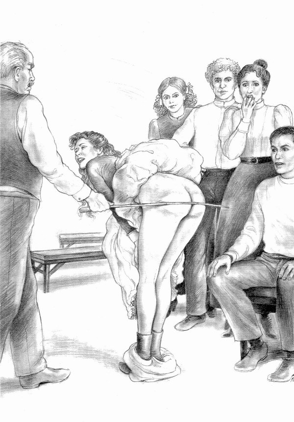 real spankings at home