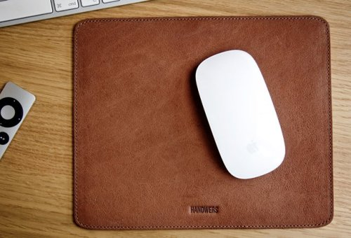 Leather Mousepad by HANDWERS - $40