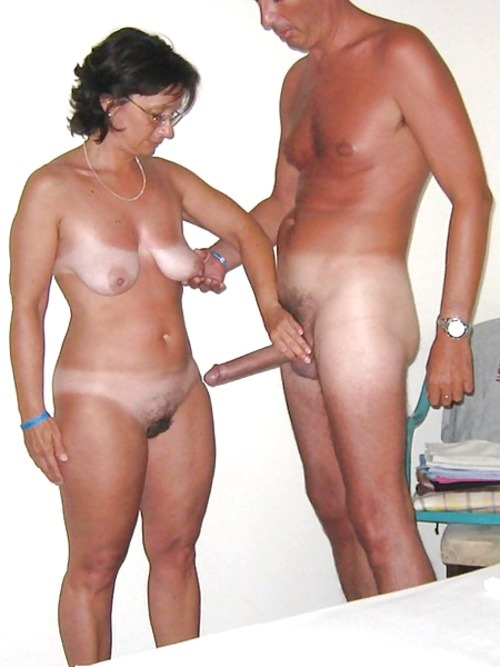 nudist couples fully erected